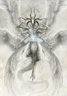 Dark Fantasy Art, Dark Art, Character Art, Character Design, Angel Artwork, Angel Images, Arte Obscura, Arte Horror, Angels And Demons