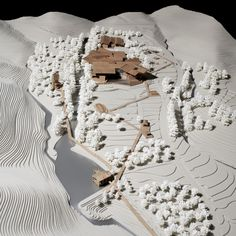 Winning Entry for New Pottery Museum in South Korea / PWFERRETTO + UTOP | Architectural Model