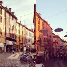 Via Mazzini #ferrara #italia
