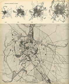 Ufficio Speciale Nuovo Piano Regolatore di Roma. Casabella 219 1958: 12