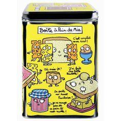 Boîte à pain de mie Brunch - Derrière la porte