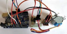 Controlling Stepper Motor using Potentiometer and Arduino