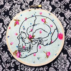 punk hand embroidery - Google Search