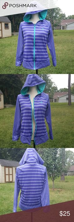 Adidas Fulll Zip Ultimate Hoodie Jacket Adidas  Size M Full zip ultimate hoodie jacket, gaps at the bottom of each sleeve, hoodie is missing the drawstrings, other than that this is in excellent condition. adidas Jackets & Coats