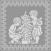 Free Antique Filet Crochet Patterns | Grandmother's Pattern Book Sharing Links…