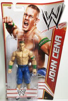 (TAS031845) - 2012 Mattel WWE Wrestling Action Figure - John Cena #59