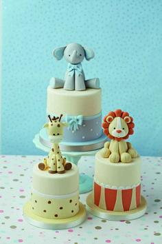 Safari baby shower cake, lion baby shower, elephant and giraffe bab Giraffe Birthday Cakes, Giraffe Cakes, Safari Cakes, Baby Birthday Cakes, Giraffe Baby, Baby Boy Cakes, Torta Baby Shower, Safari Baby Shower Cake, Cake Story