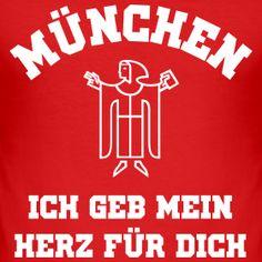 Mingashop FC Bayern München T-Shirts, Hoodies, Kapuzenjacken Germany Football, Munich Germany, Bavaria, Devil, Soccer, Hoodies, Shirts, Style, Palm Trees