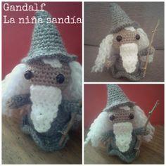 Gandalf, amigurumi de La niña sandía