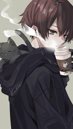 New Unseen Famous Anime Wallpaper Collection. Latese most popular and famous anime wallpaper collection. Anime Neko, Kawaii Anime, Manga Anime, Manga Boy, Hot Anime Boy, Dark Anime Guys, Cool Anime Guys, Anime Boys, Fan Art Anime