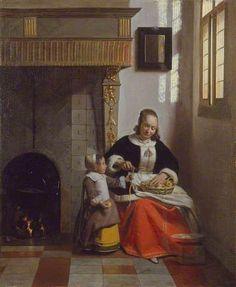 Your Paintings - Pieter de Hooch paintings
