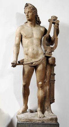 Apollo. Villa Borghese. Rome. http://hadrian6.tumblr.com