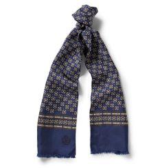 Dolce & GabbanaPrinted Silk Scarf MR PORTER