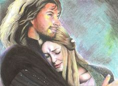 Faramir and Eowyn by LMT-Xisa on deviantART