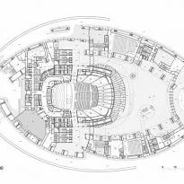 ✅ Kazajistán Central Concert Hall - Data, Photos & Plans - WikiArquitectura The Plan, How To Plan, Theater Architecture, Architecture Plan, Theater Plan, Theatre, Hall Flooring, Weekend House, Ground Floor Plan