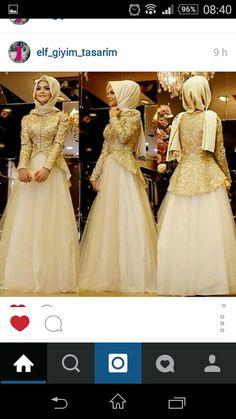 Islamic Fashion, Muslim Fashion, Hijab Fashion, Modest Dresses, Bridesmaid Dresses, Wedding Dresses, Unique Fashion, Style Fashion, Fashion Trends