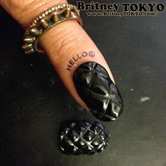 Quilted Chanel Inspired Nails by Britney Tokyo