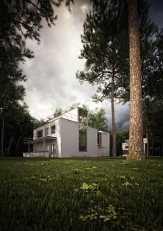 The Masters Houses in Dessau by Walter Gropius