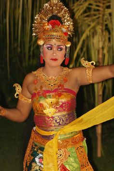 Dancer from Bali, Indonesia