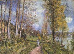 Alfred Sisley - Près de la Seine