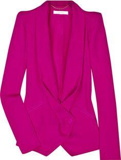 ShopStyle: Vanessa Bruno Angular shoulder jacket