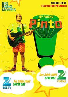 My Friend Pinto starring Pratiek Babbar and Kalki Koechlin Kalki Koechlin, Drama Series, Bigbang, I Movie, My Friend, Cinema, Movie Posters, Movie Theater, Movies