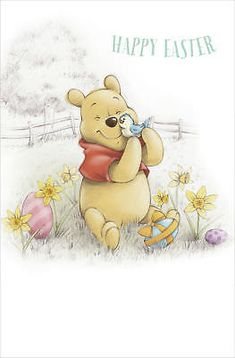 Pooh Happy Easter