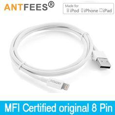 대한 apple mfi 인증 3 m/1 m 2.4a 데이터 동기화 충전기 코드 usb 케이블 iphone 7 6 6 초 플러스 5 5 초 se ipad 액세서리