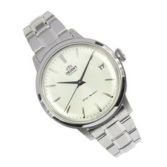 Orient Bambino Automatic Watch Buy original Orient Bambino Automatic Ladies Watch at lowest price. Fast shipping to USA, Australia, Singapore, Hong Kong, France. Sport Watches, Watches For Men, Ladies Watches, Orient Watch, Mechanical Watch, Automatic Watch, Watch Brands, Stainless Steel Case, Luxury Watches