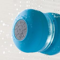 Haut-Parleur Bluetooth Etanche Bleu sur Kas design