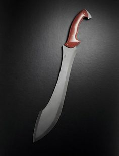 Interesting blade shape