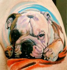 Tattoo Bulldog