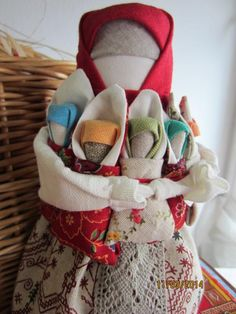 "GlobeIn: Handmade fabric doll Seven-""I""s  (Family) #GlobeIn #handmade #doll #mother"