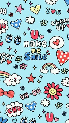 ✿U Make Me Smile iPhone5 Wallpaper by Yes_girL✿