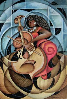 """Mello Cello"" by Marcella Hayes Muhammad"