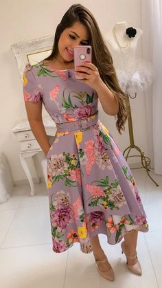 Swans Style is the top online fashion store for women. Shop sexy club dresses, jeans, shoes, bodysuits, skirts and more. Trendy Dresses, Modest Dresses, Modest Outfits, Skirt Outfits, Modest Fashion, Cute Dresses, Casual Dresses, Short Dresses, Fashion Dresses