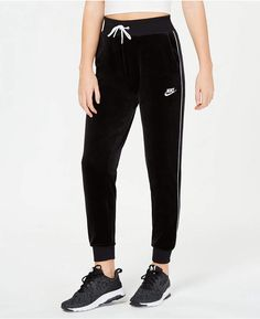 854d4dc405556 Nike Sportswear Velour Pants Ropa, Trajes De Trabajo Eventual, Corredores,  Pants, Adultos
