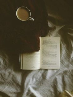 Coffee, a blanket and a book!
