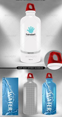 Labels for Water Bottles Template Unique Water Bottle Label Template – 29 Free Psd Eps Ai Graphic Design Templates, Label Templates, Print Templates, Water Bottle Design, Water Bottle Labels, Water Bottles, Product Catalog Template, Billboard Design, Free Website Templates