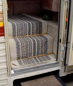 RV Entry Step Rug :: Keep Your Carpet Clean