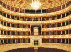 Teatro Municipale Reggio Emilia -lovely theater in Reggio Emilia.