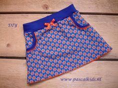 Hip rokje. Zelf maken met een DIY naaipakket van Leuketricotstofjes.nl