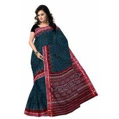 Cotton Sari Made In Maniabandh | Handloom Ssaree Online | Best Designed Sari - Odisha Saree Store