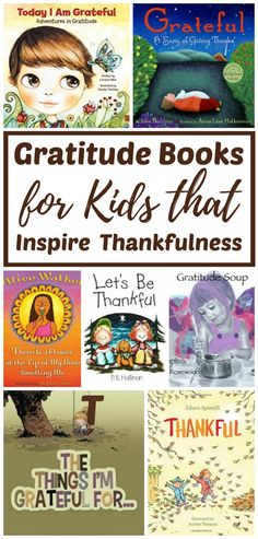 Gratitude Books for Kids That Inspire Thankfulness - Reading through these books, with your children, is a great way to cultivate and encourage thankfulness. Each of these books provides a simple lesson for nurturing gratitude, year round. Thanksgiving Books, Thanksgiving Activities, November Thanksgiving, Learning Activities, Activities For Kids, Fun Learning, Gratitude Book, Practice Gratitude, Gratitude Quotes
