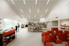 Livraria e Centro Cultural na Dinamarca | Primus Arkitekter