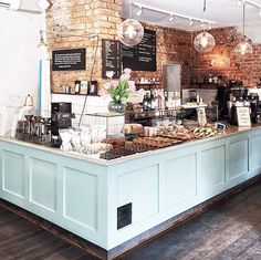 Stockholm, sweden coffee trailers and shops in 2019 coffee shop design, cof Bakery Shop Design, Coffee Shop Interior Design, Coffee Shop Design, Bakery Shop Interior, Coffee Cafe Interior, Bg Design, Cafe Design, Cafe Restaurant, Restaurant Design