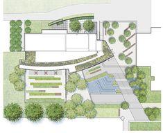 Simons-Center-park-Dirtworks-12-Site-Plan  Landscape Architecture Works | Landezine