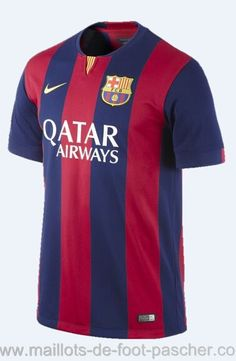 FC Barcelona Stadium Home Men s Soccer Jersey. Ines · Maillot de foot  Barcelone 2f1361a213c14