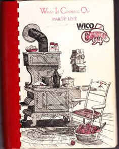 1983 | What is Cooking on Party Line | By WICO Radio Station