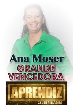 @VOTALHADA: Aprendiz Celebridades:Ana Moser é a grande vencedo...